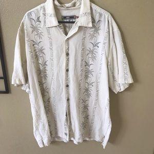 QUIKSILVER EDITION men's XL linen cotton shirt